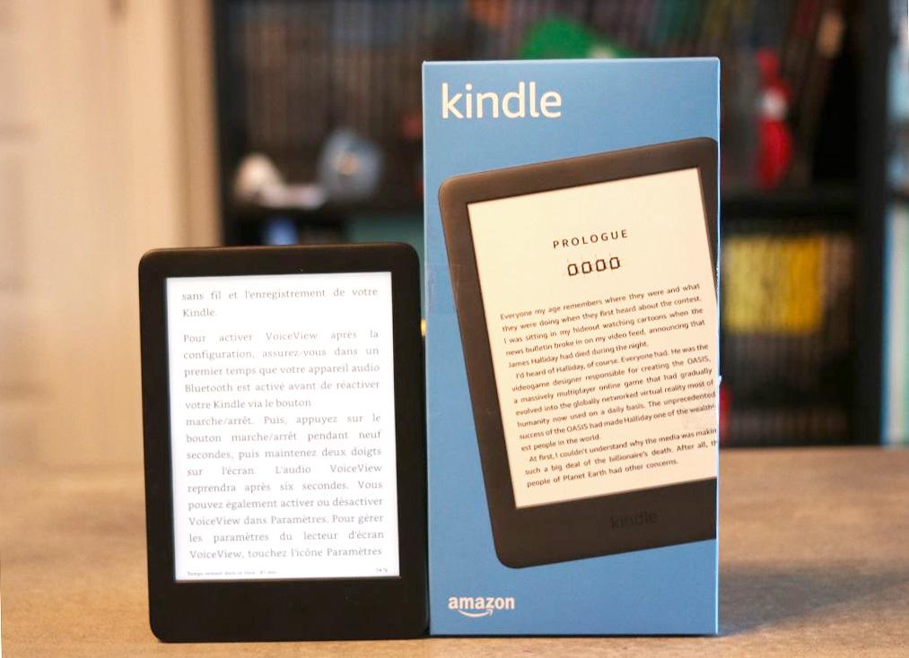 Test De La Nouvelle Liseuse Numerique Kindle D Amazon