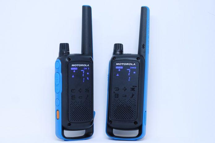 radios bidirectionnelles Talkabout de Motorola T800