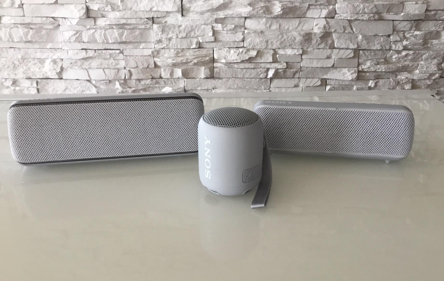 Haut-parleurs Bluetooth XB12, XB22 et XB32 de Sony