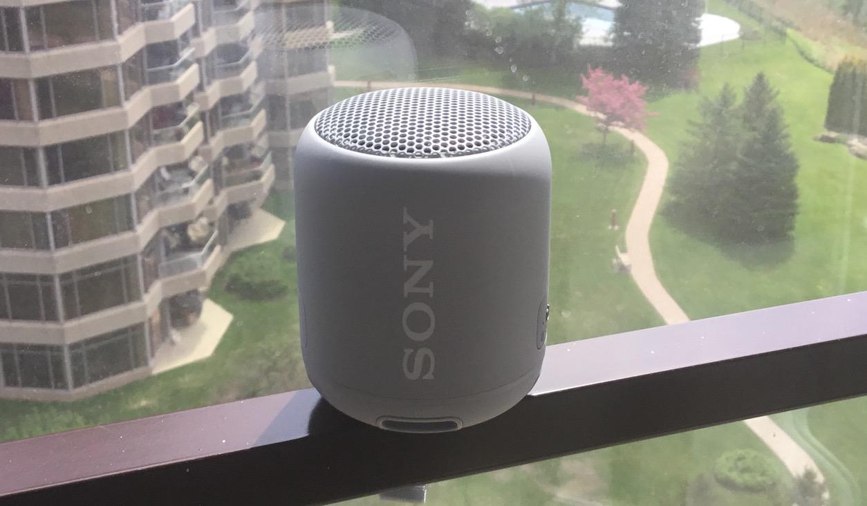 Haut-parleur XB12 de Sony