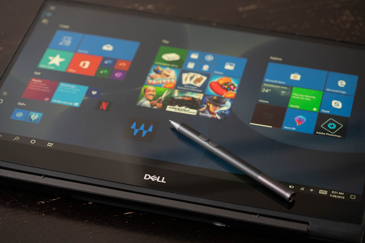 Dell Inspiron 2-en-1 tactile