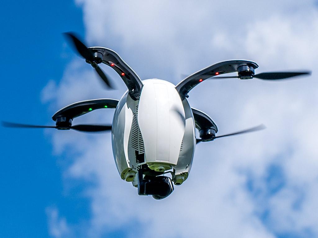 drone PowerEgg de PowerVision