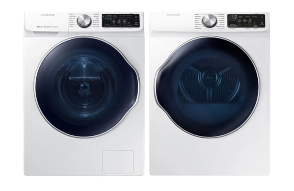L'évolution de la laveuse et la sécheuse
