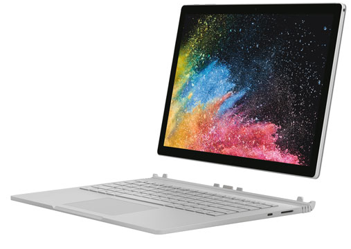 Portable 2-en-1 13,5 po Surface Book 2 Microsoft (Core i5-8350U d'Intel SSD 256 Go RAM 8 Go)