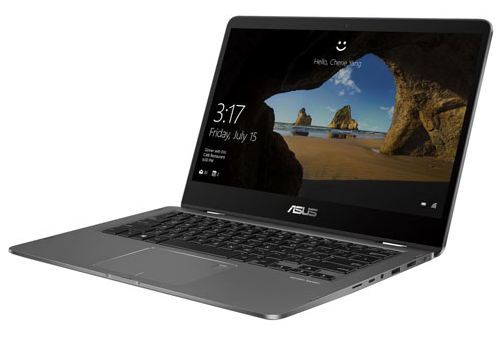 ZenBook tactile 2-en-1 de 14 po d'ASUS - Gris (Core i5-8265U d'Intel SSD 256 Go RAM 8 Go Windows 10)