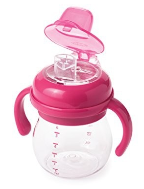 Oxo Tot Transitions Soft Spout Sippy Cup With Removable Handles, Pink, 6 Ounce Best Buy Canada