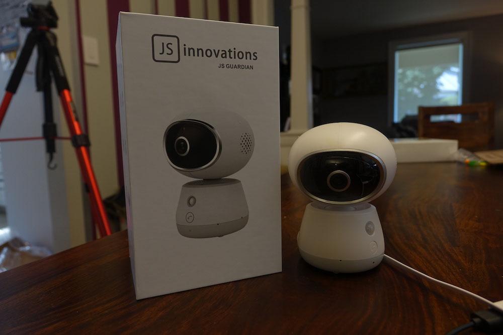 l'interphone de surveillance pour bébé JS Guardian