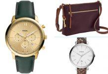 Les nouveautés en matière de montres et sacs Fossil pour l'automne