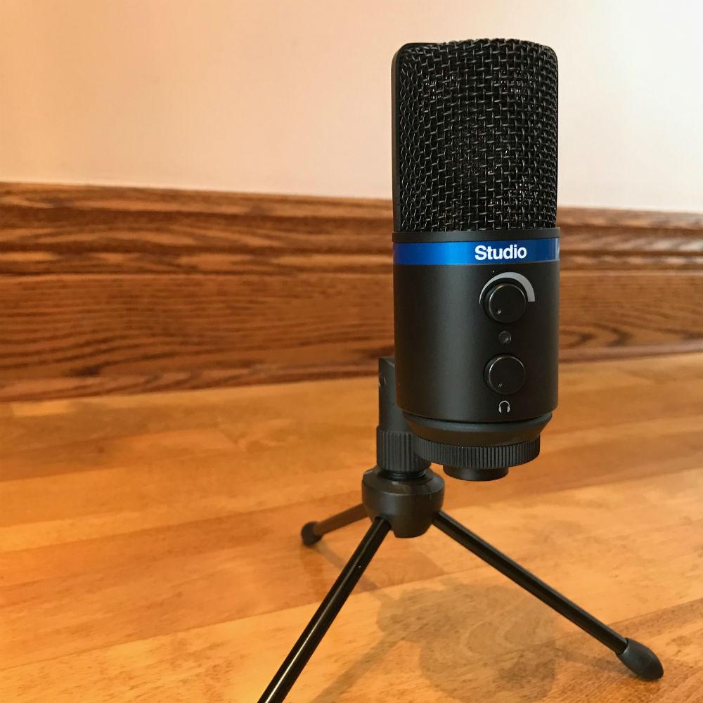 Microphone condensateur