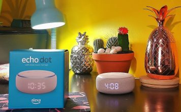 Echo Dot Alexa horloge Amazon