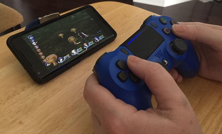 PS4 remote manette