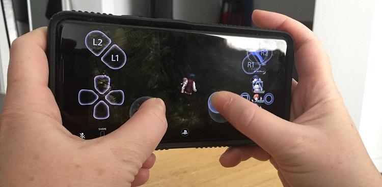 PS4 remote virtuel