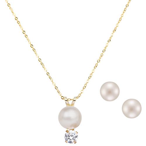 collier pendentif perle