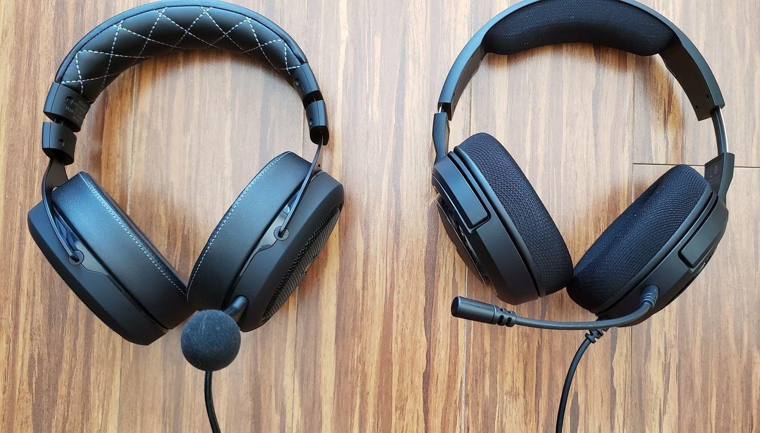 des casques de jeu HS35 et HS60 de Corsair