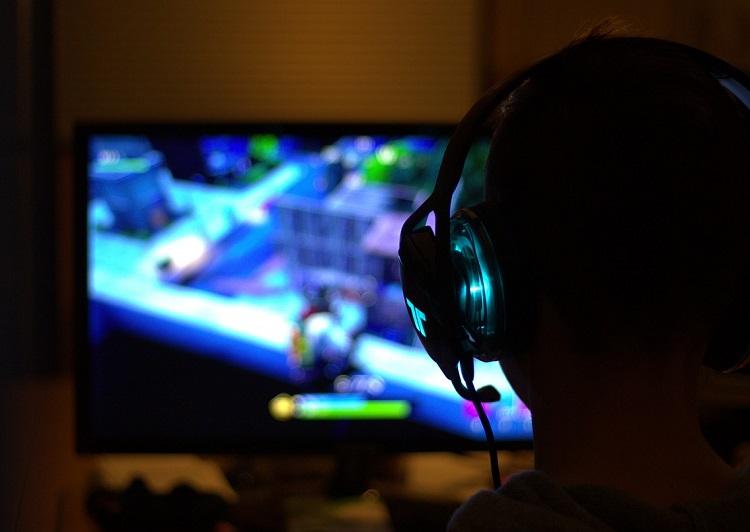 gamer jeu vidéo