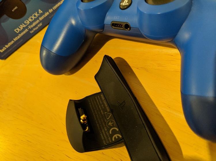 Fixation dorsale PS4