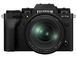 Nouvelles caméras Fujifilm