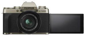 X-T200 avec lentille
