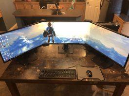asus 3 monitor gaming