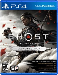 Ghost of Tsushima pochette