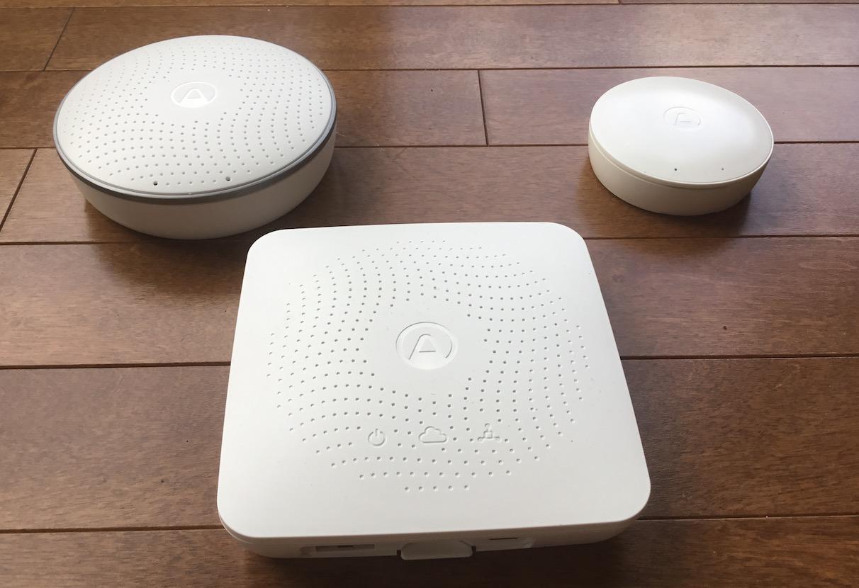 Ensemble de détecteurs intelligents Airthings