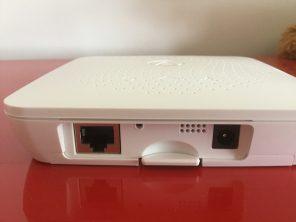 Le concentrateur Airthings requiert une connexion Ethernet