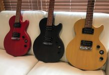 Les trois couleurs de la Les Paul Special