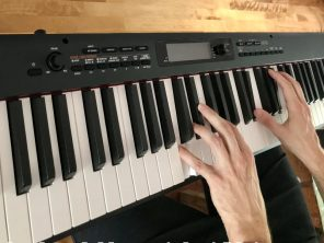 Piano avec une touche agréable