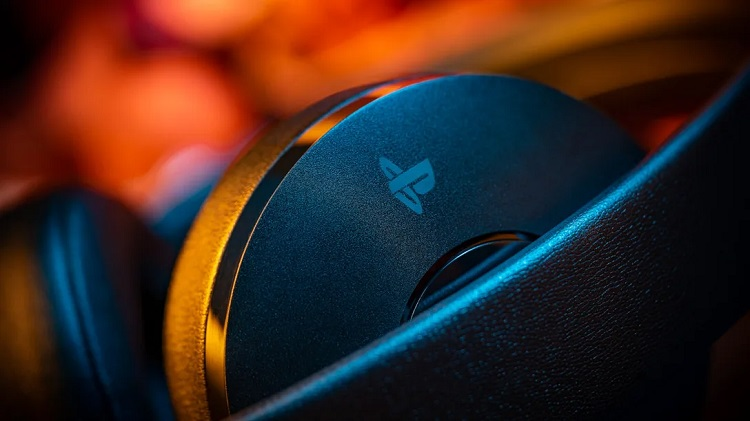 casque PlayStation 4 Gold