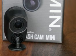 Image of Garmin Mini Dashcam with box