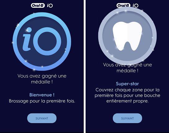 brosse à dents électrique intelligente iO 8 d'Oral-B