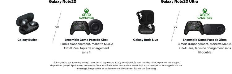 Samsung Galaxy Note Xbox