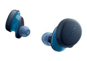 Ces écouteurs sont également disponibles en noir et bleu.
