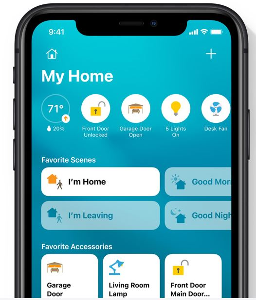 Image of iOS14 Home App on iphone