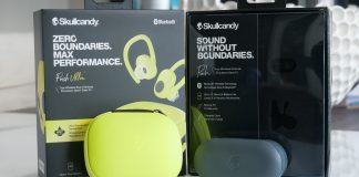 Image of Skullcandy Push and Push Ultra with box