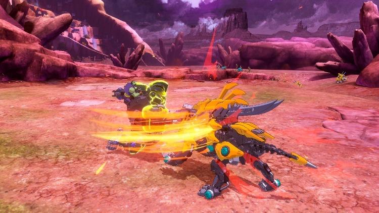 Aperçu de Zoids Wild: Blast Unleashed