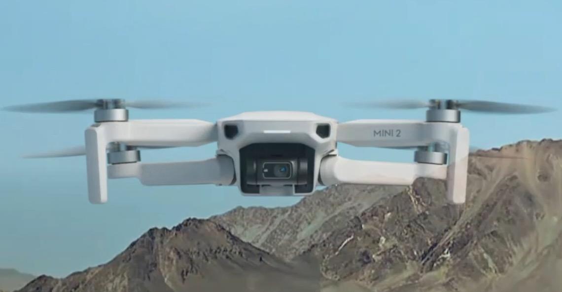 Drone quadricoptère Mini 2 de DJI