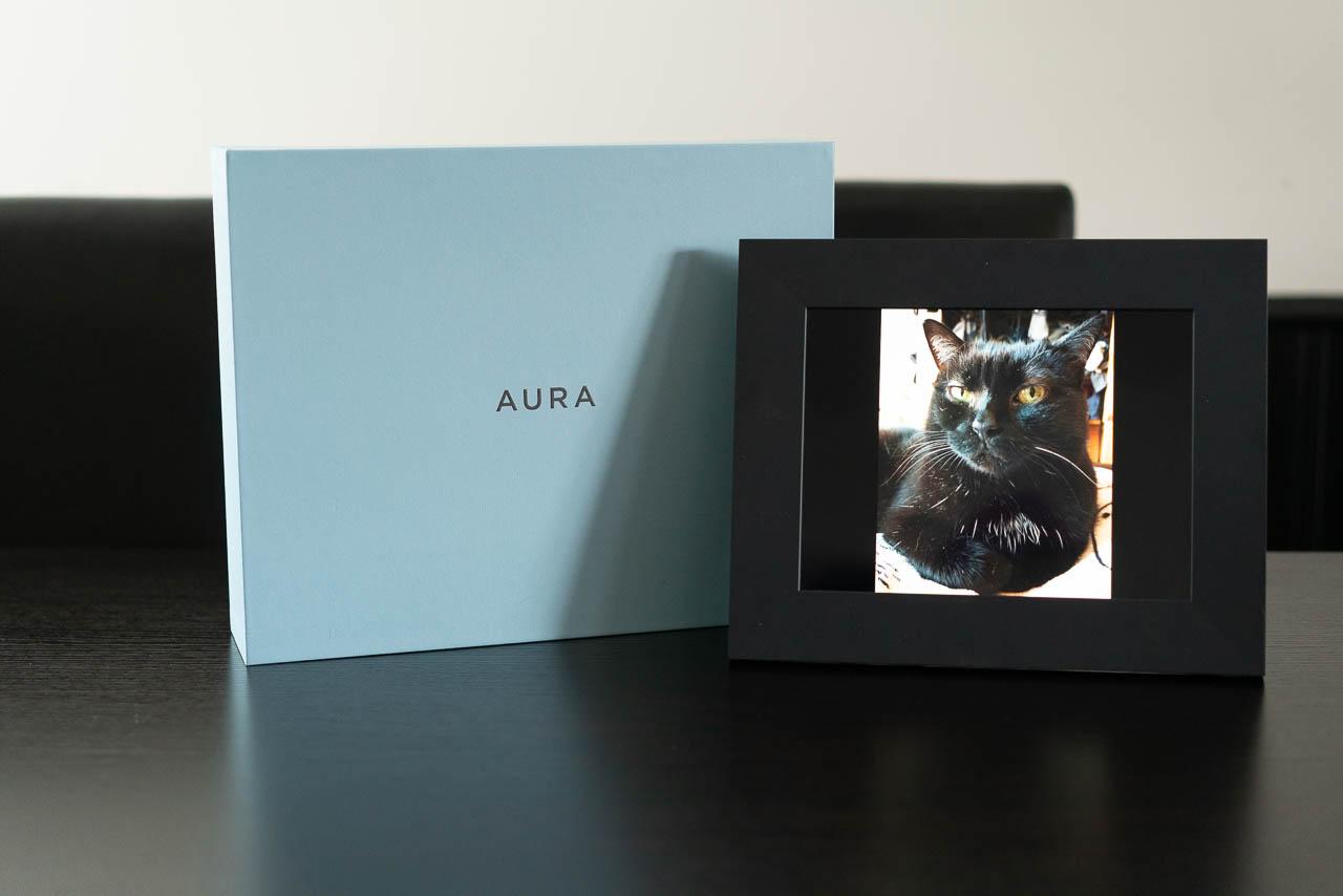 Mon évaluation du cadre photo numérique Sawyer d'Aura