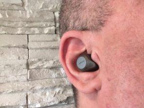 Les Elite 85t de Jabra sont petits, discrets, élégants et confortables dans l'oreille.