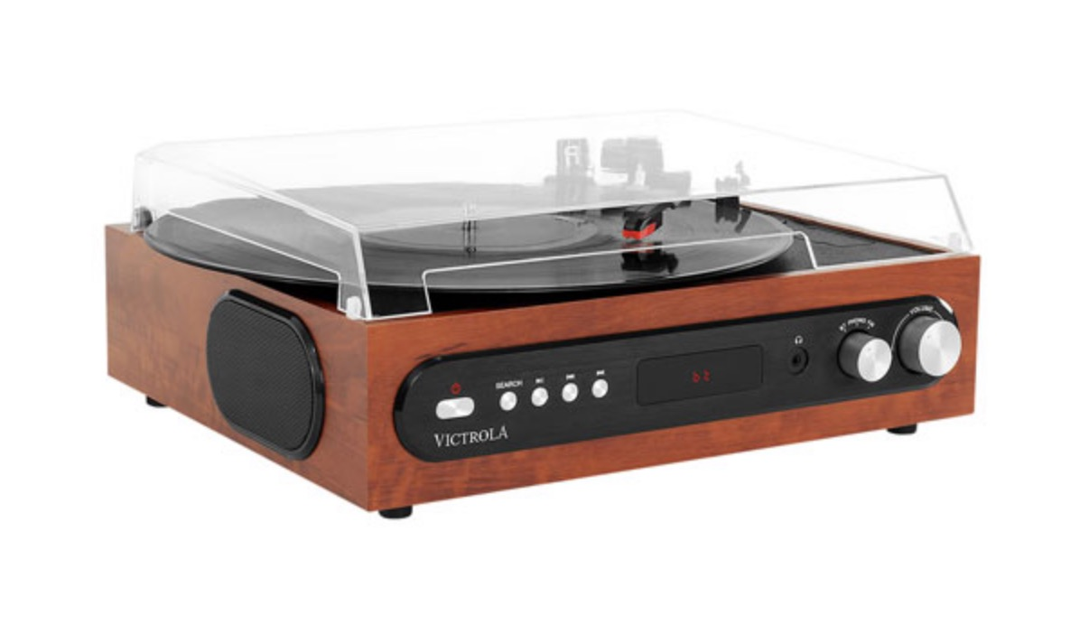 Tourne-disque Bluetooth 3-en-1 VTA-65 de Victrola