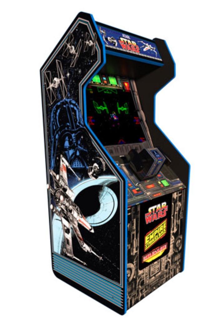Borne d'arcade Star Wars d'Arcade1Up
