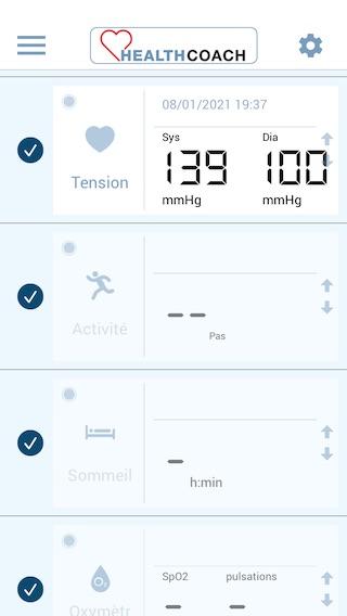 L'appli HealthCoach de Beurer, surtout utile si vous employez plusieurs appareils connectés pour surveiller votre santé.