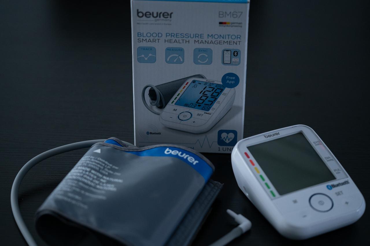 Tensiomètre sans fil de Beurer avec application pour téléphone intelligent