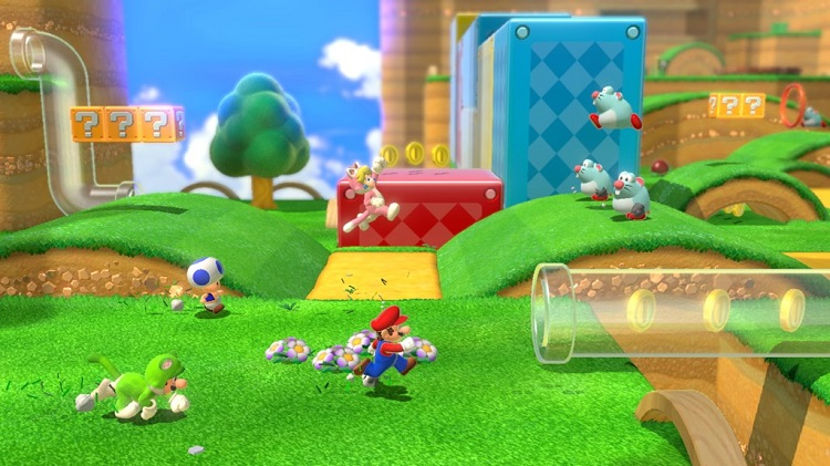 Super Mario 3D World multi