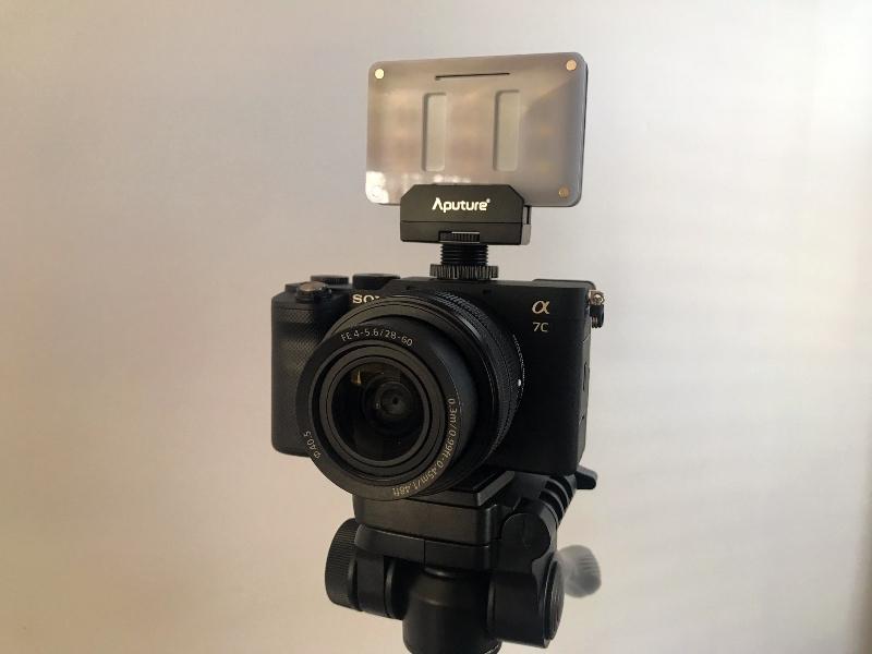 M9 Montée sur un appareil photo