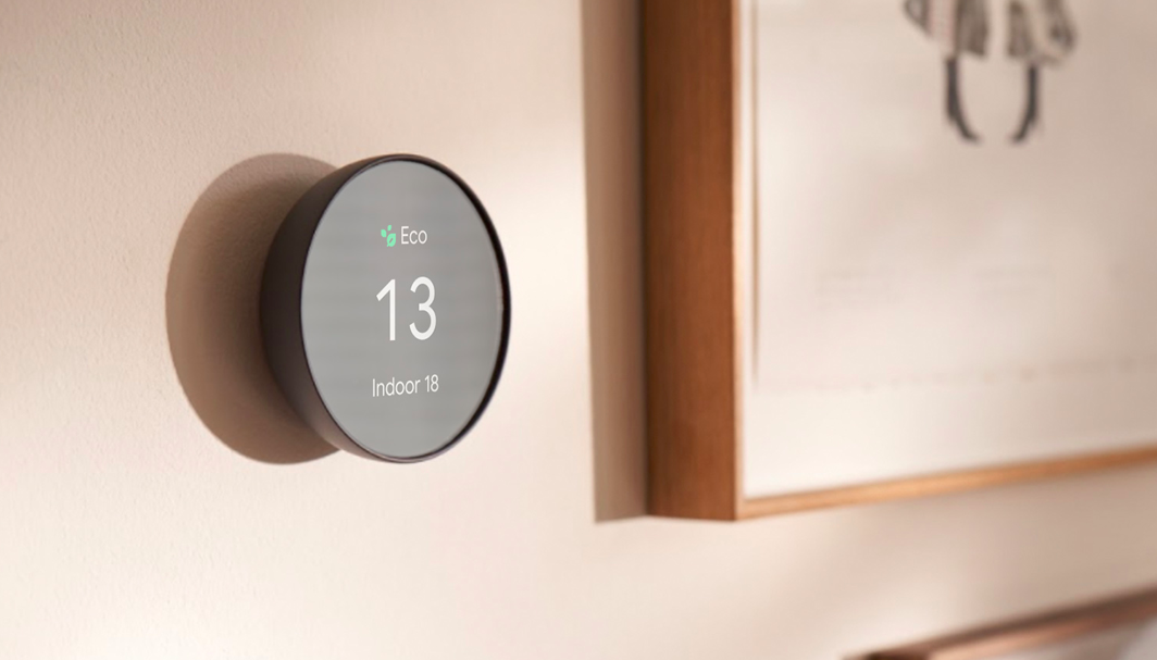 Le thermostat intelligent de Google Nest
