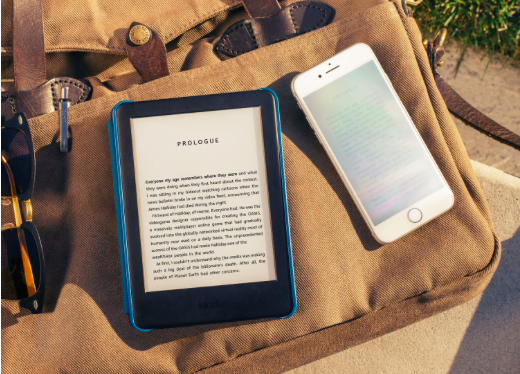 Une liseuse numérique
