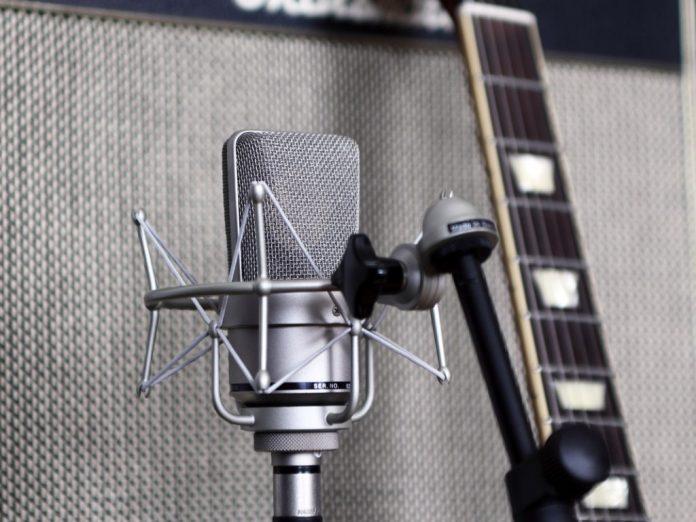Enregistrement de guitare électrique