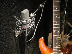 L'enregistrement de guitare électrique
