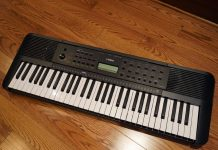 Le clavier PSR-e273 de Yamaha